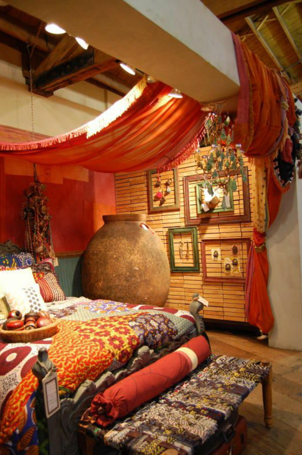 orientalische gardinen 20 tolle bilder. Black Bedroom Furniture Sets. Home Design Ideas