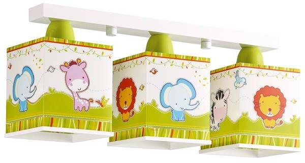 originelle-Deckenlampen -Kinderzimmer-Tiere