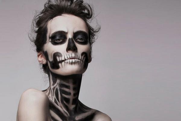 originelle-Halloween-Schmink-Idee-