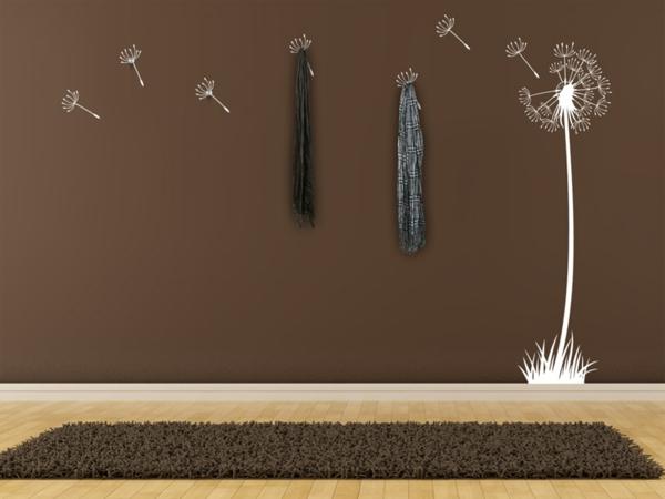 wandtattoo garderobe eine originelle idee. Black Bedroom Furniture Sets. Home Design Ideas