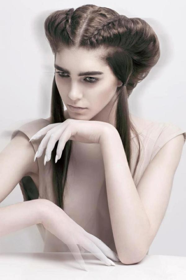 originelle-effektvolle-Frisuren-für-Frauen