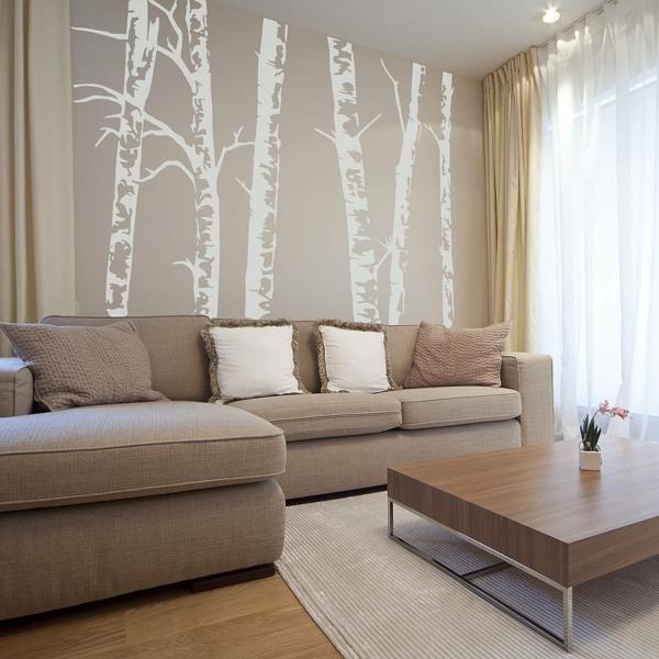 Fantastische birkenstamm deko for Hotelzimmer deko