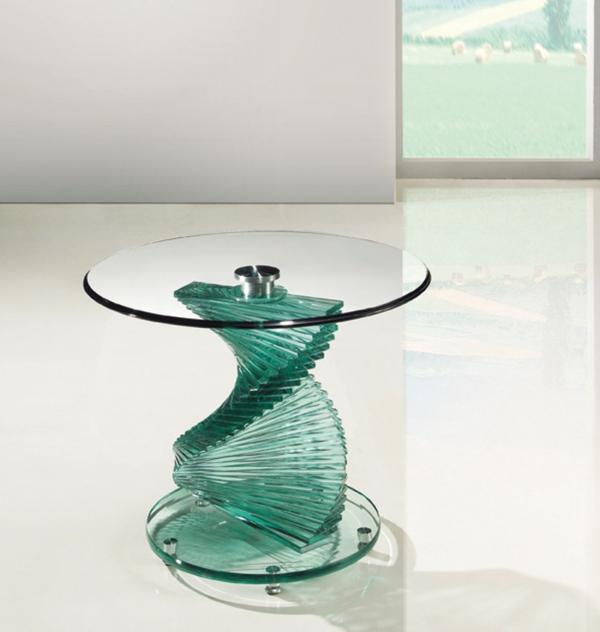 Beistelltische Aus Glas beistelltisch aus glas attraktive modelle archzine