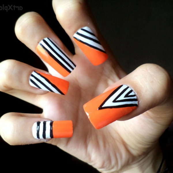 -originelles--Fingernägel-Design-