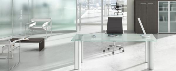 perfekte-Schreibtische-Glas-Design-Idee