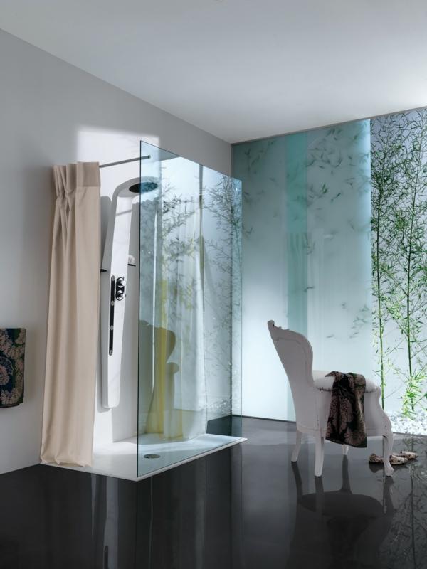 Runde Dusche Glasbausteine : Badezimmergestaltung ideen seien wir ...