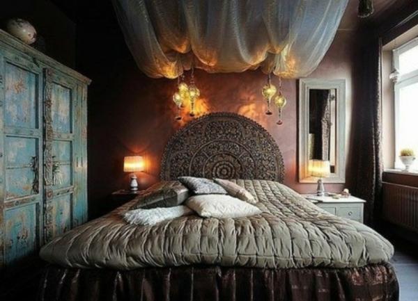 Einrichtungsideen schlafzimmer romantisch  110 verblüffende Ideen für Gothic Zimmer! - Archzine.net