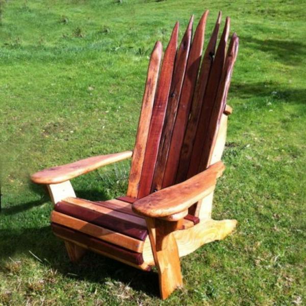 rustikale-gartenmöbel-super-stuhl