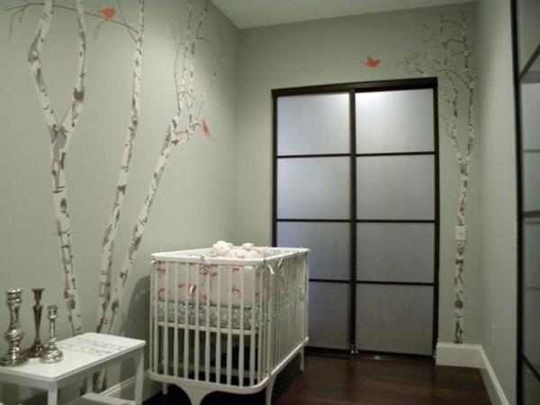 süßes-Wandbild-mit-Birken