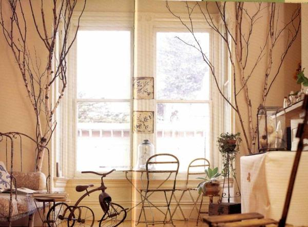 schöne-Birken-Dekoration-Wohnzimmer