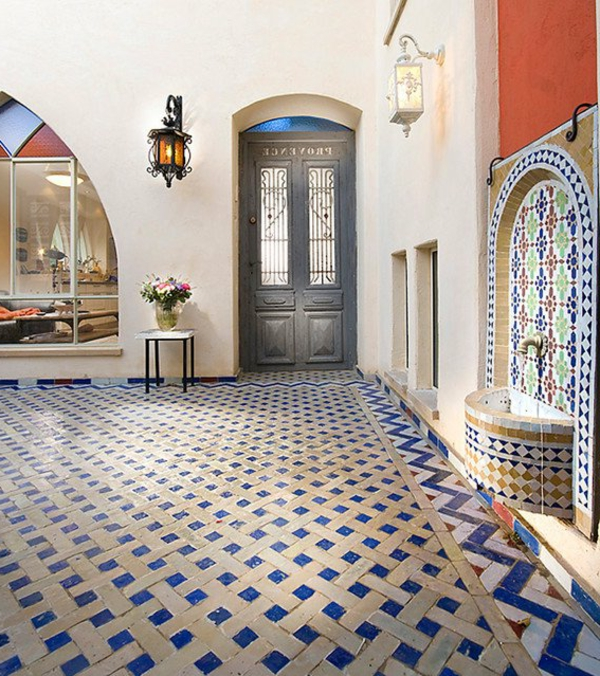schöne-Fliesen-mit- Marokkanischem-Design-