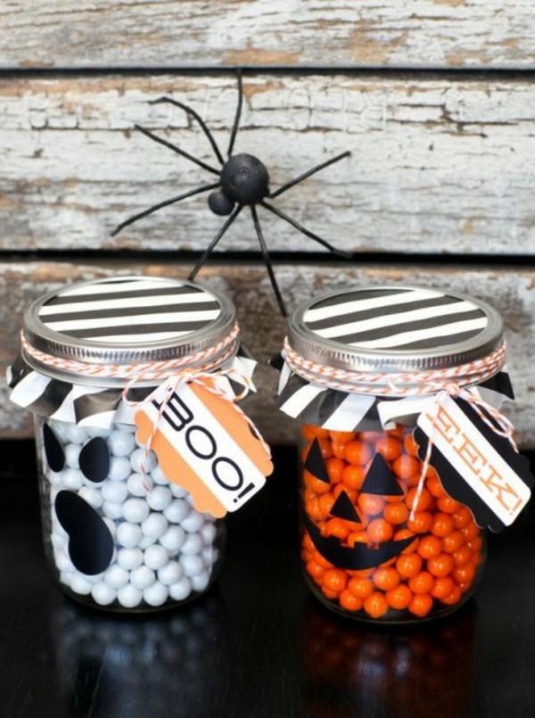 schöne-Halloween-Dekoration-selber-basteln-Spinne
