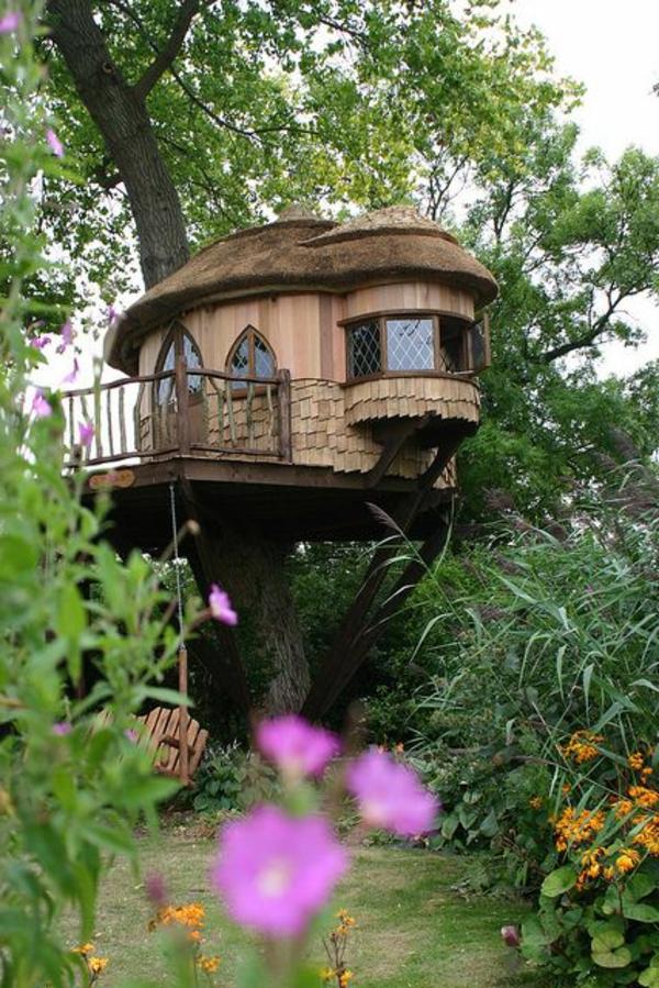 schöne-Idee-Baum-im-Haus-