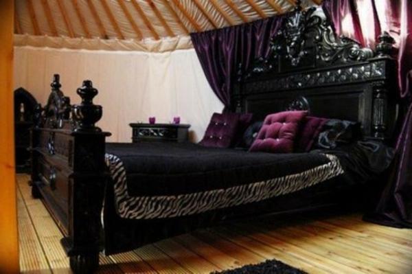 schöne-gothic-schlafzimmer-gestaltung