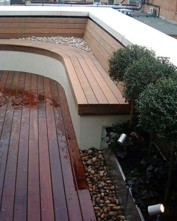 Eckbank Aus Holz FUr Balkon ~ Balkon Eckbank  ein tolles Möbelstück!