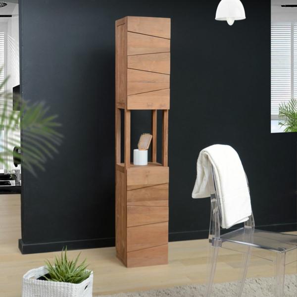 stunning badezimmer hochschrank holz pictures new home design 2018. Black Bedroom Furniture Sets. Home Design Ideas