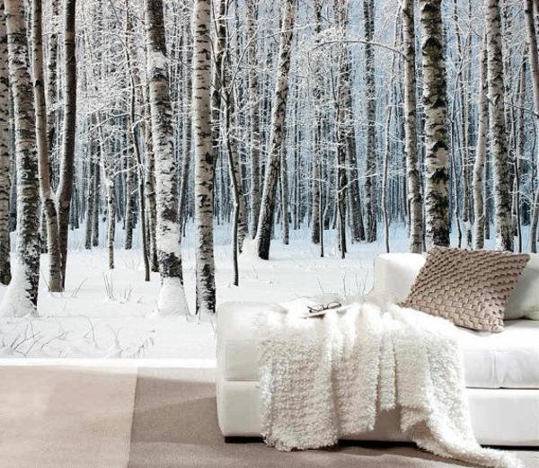 schönes-Wandbild-mit-Birken-im-Winter