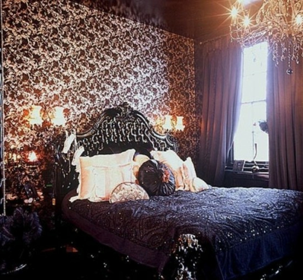 schönes-gothic-schlafzimmer