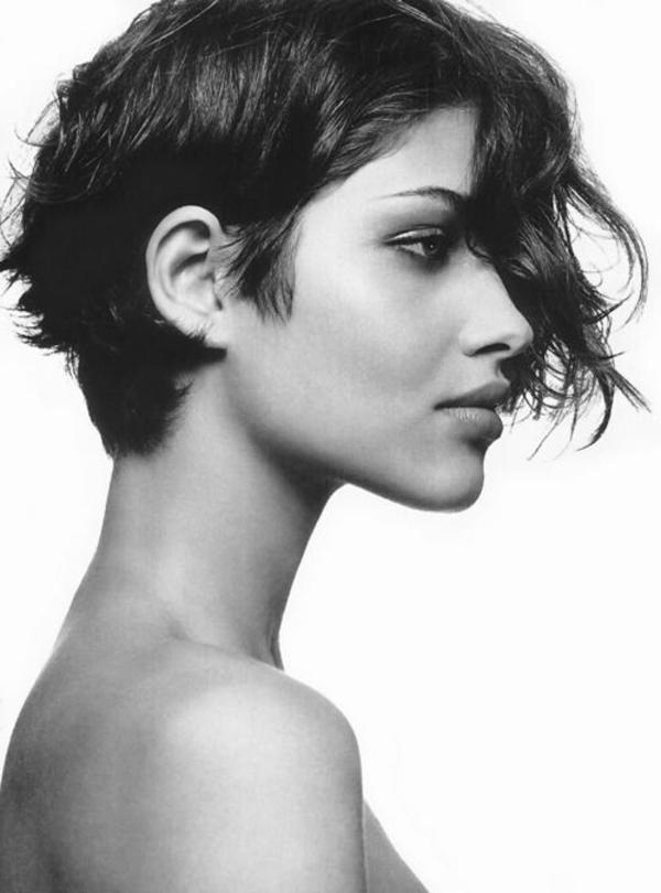 Bilder kurze haare schwarz