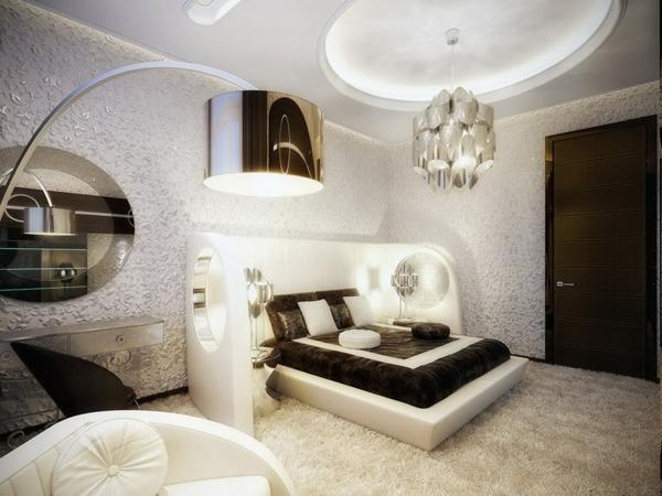 originelle schlafzimmerlampen 25 coole bilder. Black Bedroom Furniture Sets. Home Design Ideas