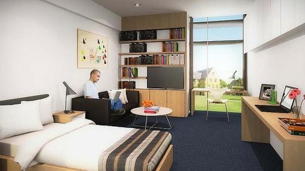 studentenzimmer einrichten 69 coole bilder. Black Bedroom Furniture Sets. Home Design Ideas