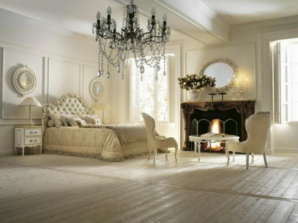 schlafzimmerlampen-im-klassischen-schlafzimmer lampen