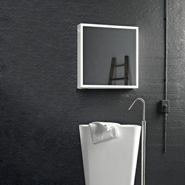 schlichtes-design-ideen-für-spiegelschrank-im-badezimmer-weißes-waschbecken