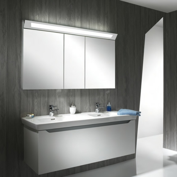 Spiegelschrank Beleuchtung Badezimmer : schneidercapelineSpiegelschrankmitBeleuchtungimBadezimmerideen