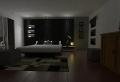 Schwarze Wandfarbe für Schlafzimmer – 30 Bilder!