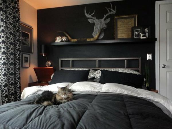 schwarze wandfarbe f252r schlafzimmer 30 bilder