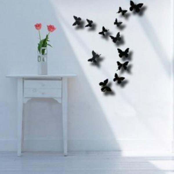 schwarzer-schmetterling-moderne-wandgestaltung
