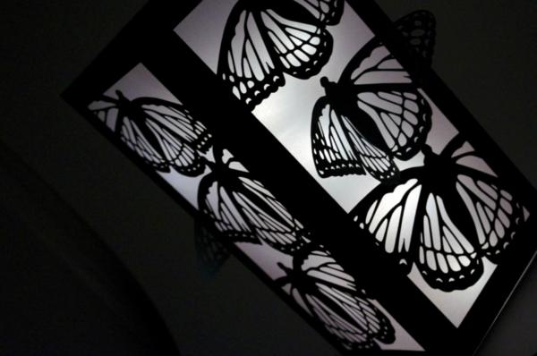 schwarzer-schmetterling-schöne-dekoration