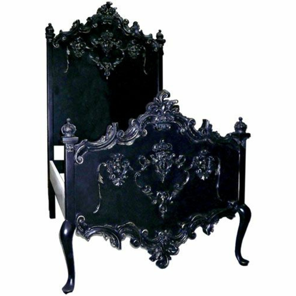 110 verbl ffende ideen f r gothic zimmer. Black Bedroom Furniture Sets. Home Design Ideas
