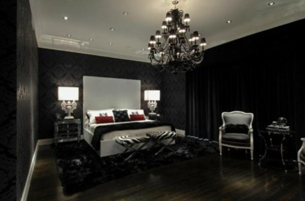 110 verblüffende ideen für gothic zimmer! - archzine, Schlafzimmer ideen