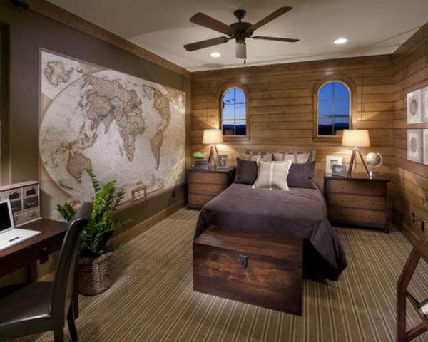 mediterrane wandgestaltung schlafzimmer mappe an der wand im mediterranen wandgestaltung stil - Schlafzimmer Mediterraner Stil Bilder