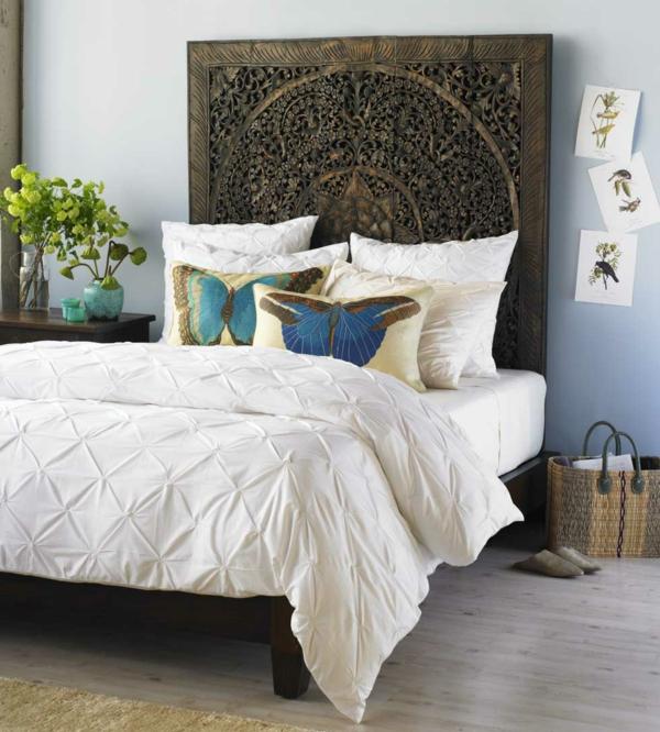 kopfteil f r bett 46 super coole designs. Black Bedroom Furniture Sets. Home Design Ideas