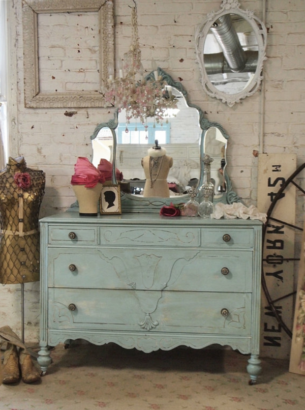shabby-chic-kommode-vintage-look