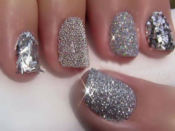 silberne-Fingernägel-Idee