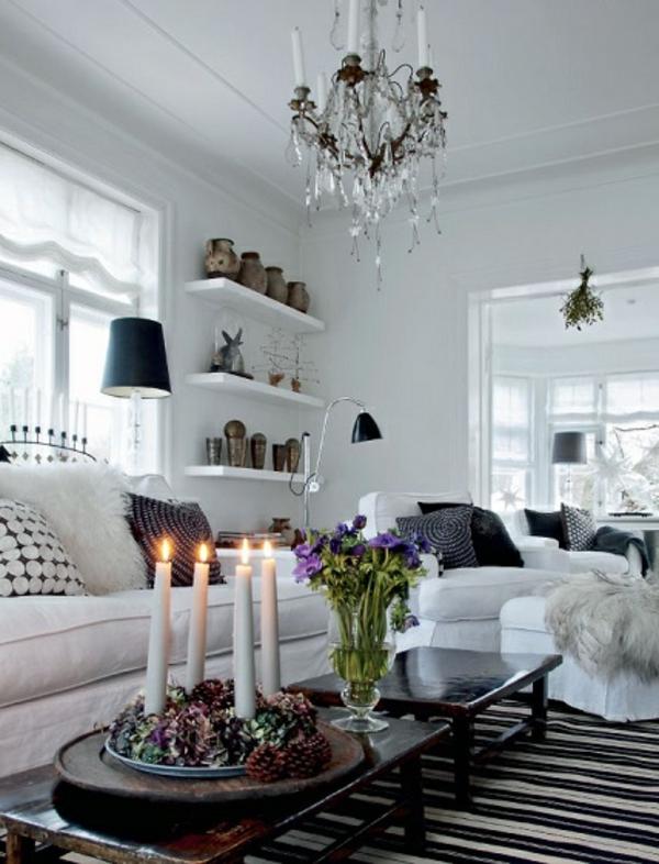 skandinavisch wohnen bilder verschiedene ideen f r die raumgestaltung inspiration. Black Bedroom Furniture Sets. Home Design Ideas