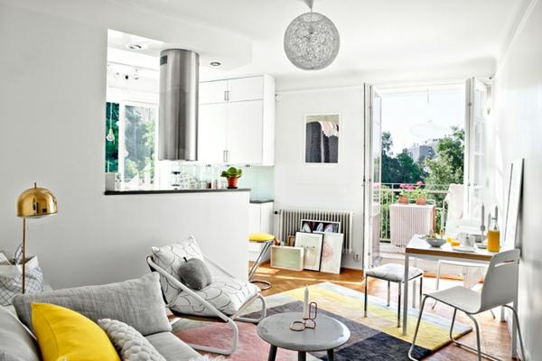 Skandinavisches Appartement Einrichten Klein Und Modern Skandinavisch