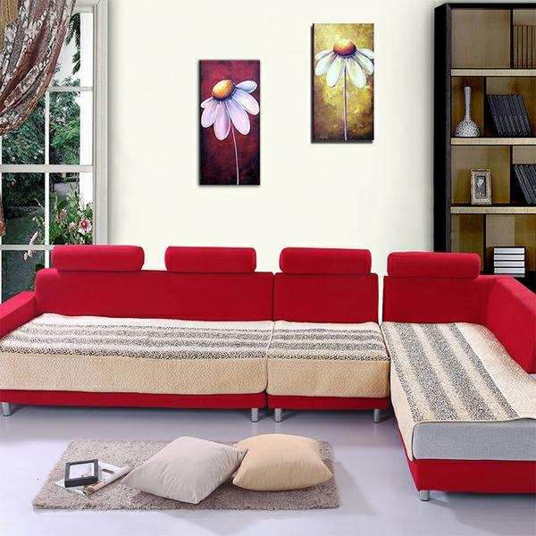 sofabezüge-für-ecksofa-rote-farbe