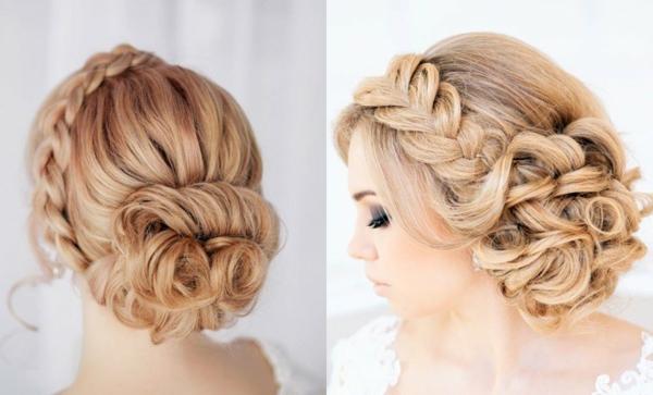 stilvolle- Hochzeitsfrisuren-blonde-Haare