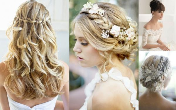 stilvolle- Hochzeitsfrisuren-für-blondes-Haar