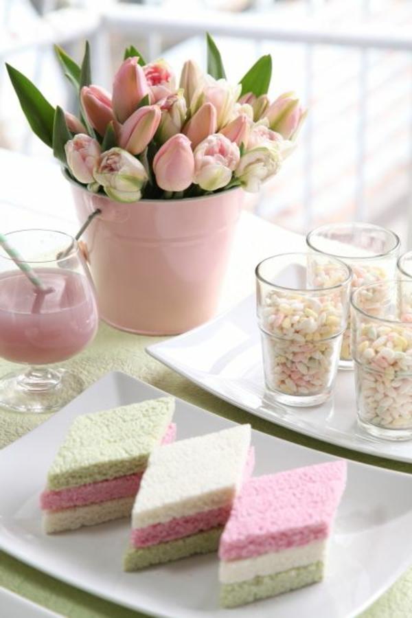 100 tolle ideen f r tischdeko mit tulpen - Stilvolle tischdeko ...