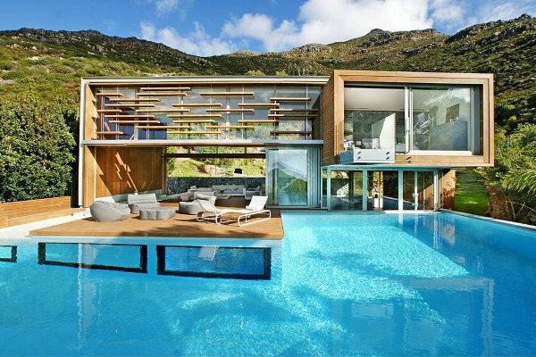 Moderne Gartengestaltung Mit Pool  Gartens Max