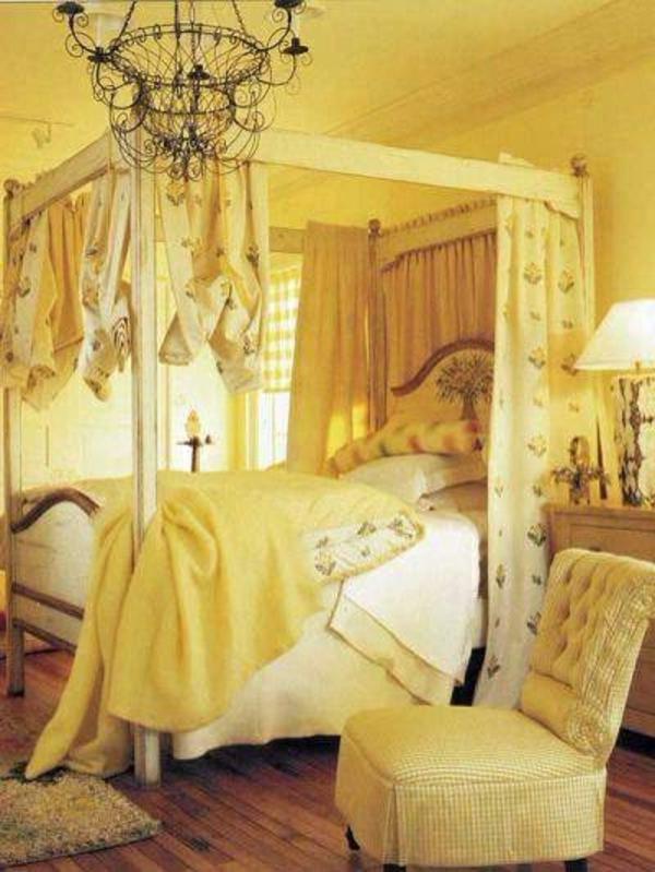 super-gelbe-farbgestaltung-im-schlafzimmer