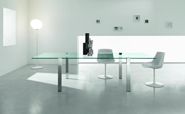 super-moderne--Esstische-aus-Glas-Zimmer