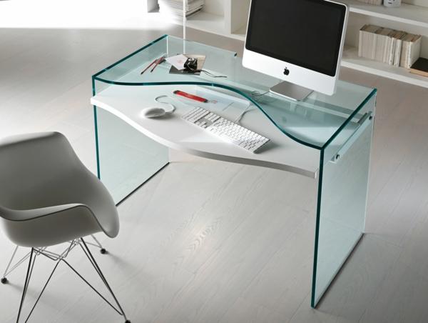 super-moderne-Schreibtische-aus-Glas-