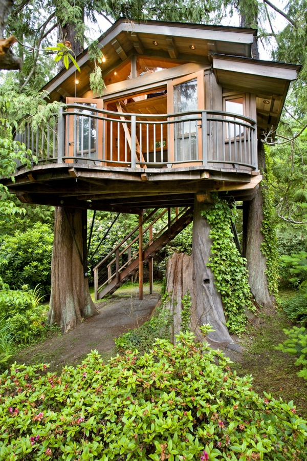 Super Tolle  Baumhäuser