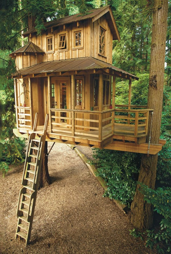 Amazing Tolle Ideen Baumhäuser Im_Wald